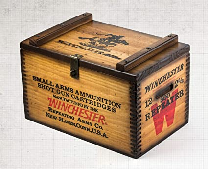 Winchester Wooden Ammo Box