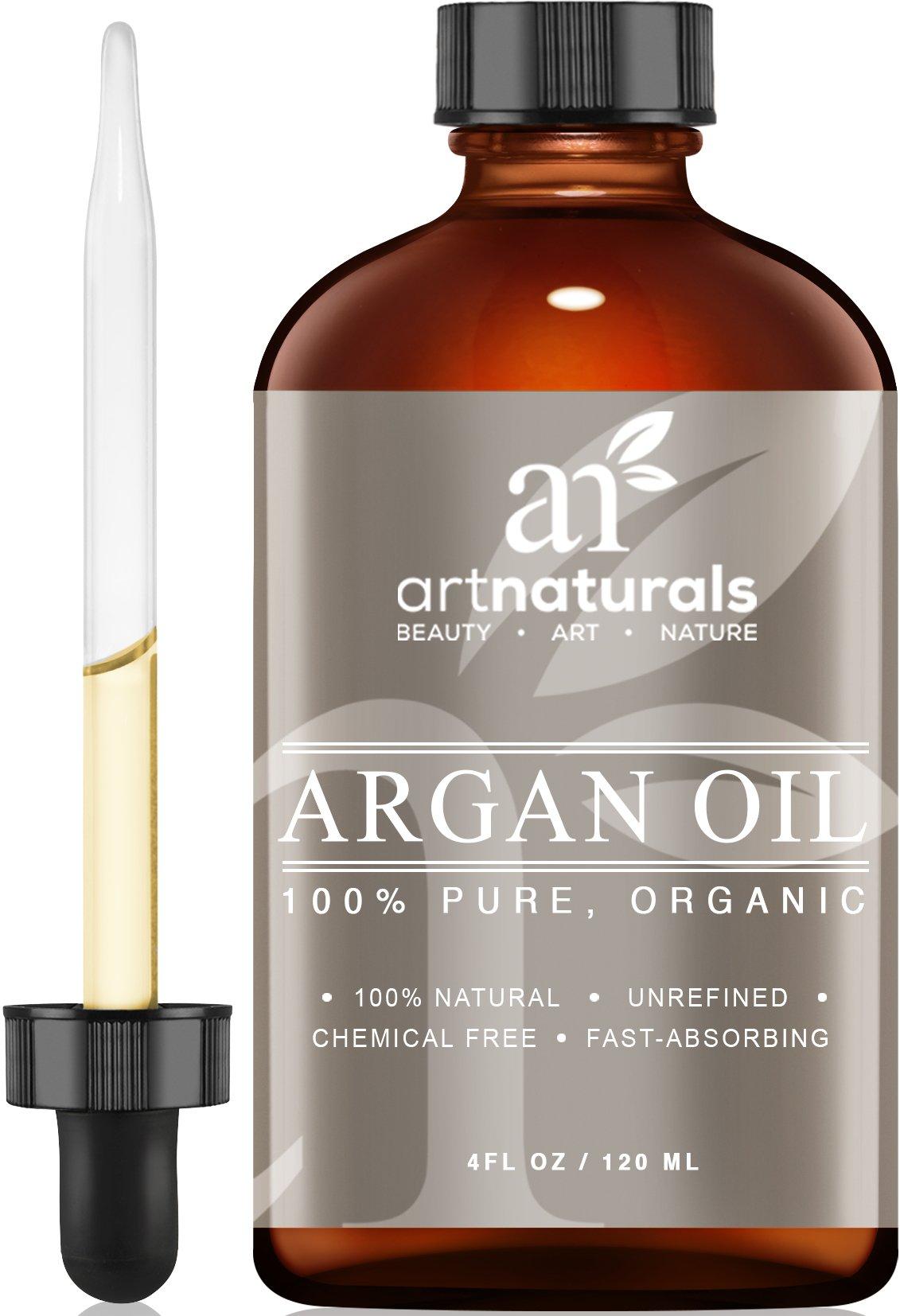 Art Naturals Organic Argan Oil For Hair Face & Skin 4 Oz - 100% Pure Grade A .. 18