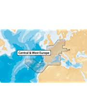 Navionics Plus 46XG Central & West Europe Marine & Lake Charts on SD/MSD