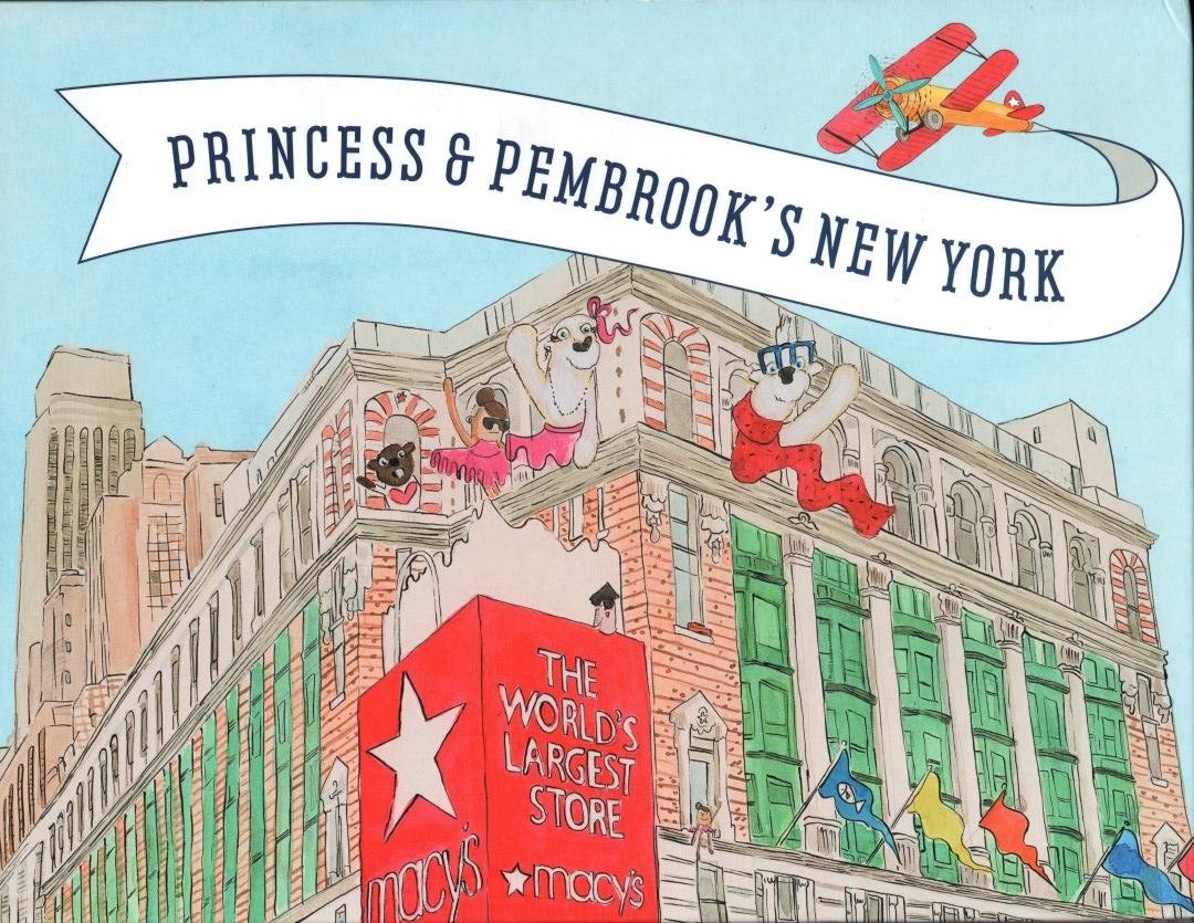 27cb75f80b82 Princess & Pembrook's New York, A NYC Travel Guide for Children Hardcover –  2014