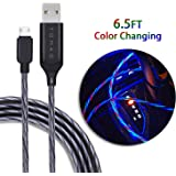 Amazon.com: XV Micro USB Cable Android, [6.6ft/2m] Fast ...
