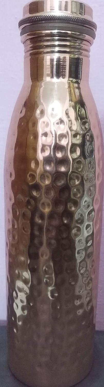 SS Retail - Botellas de cobre con elegante unión, beneficiadas con Ayurvedic 100% puras y a prueba de fugas