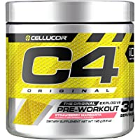Cellucor C4 Original Pre Workout Powder with Strawberry 30 Servings