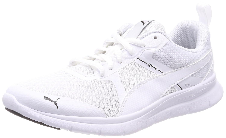Flex Essential White Sneakers-6 UK