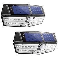 2-Pack LITOM 30 LED Solar Lights Outdoor Deals