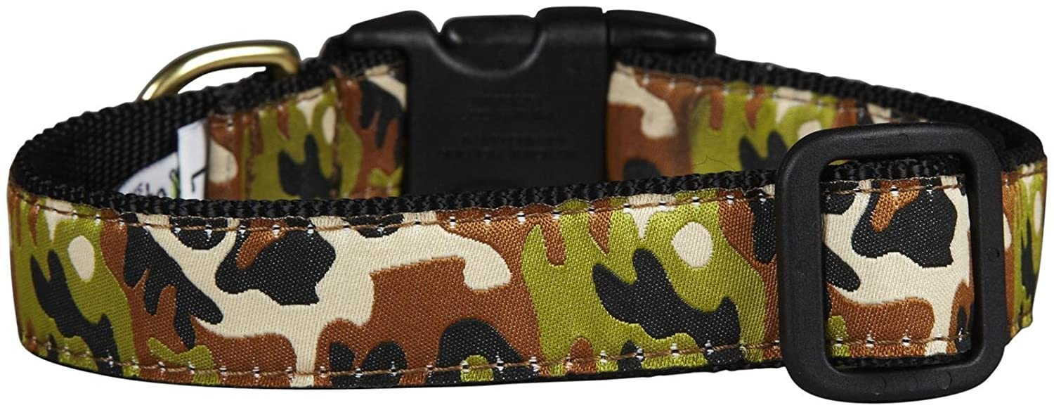 Up Country Camo Dog Collar Medium