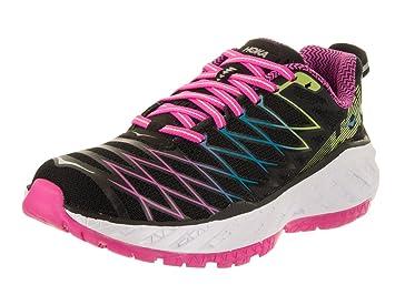 HOKA One One Clayton 2 schwarze und rosa haussures-Running