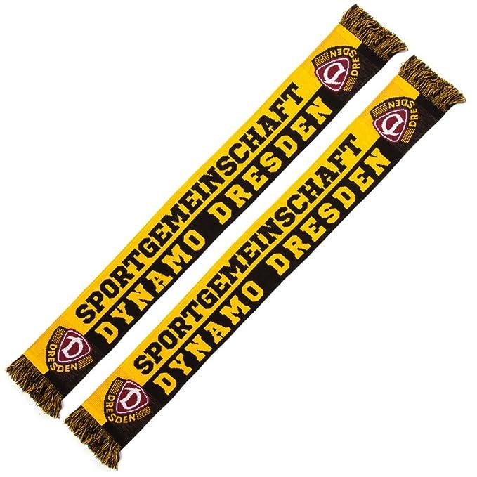 SG Dynamo Dresden Schlauchschal schwarz-gelb