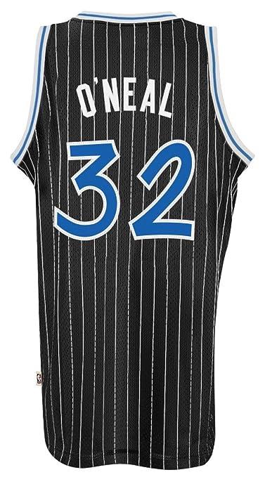 b62bf49bef7 Amazon.com : Orlando Magic #32 Shaquille O'Neal NBA Soul Swingman Jersey,  Black, Size: Small : Sports Fan Jerseys : Sports & Outdoors