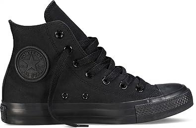 Converse CHUCK TAYLOR ALL STAR HI Fashion Sneaker Leder Unisex schwarz NEU