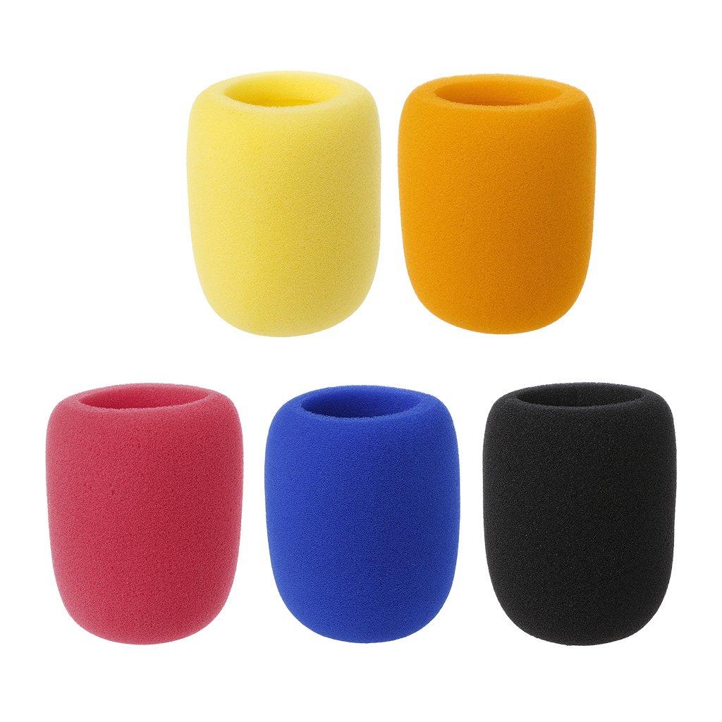 Nero GROOMY Soft Addensare Microfono in Schiuma Mic Cover Sponge cap Studio Protettivo Grill Shield