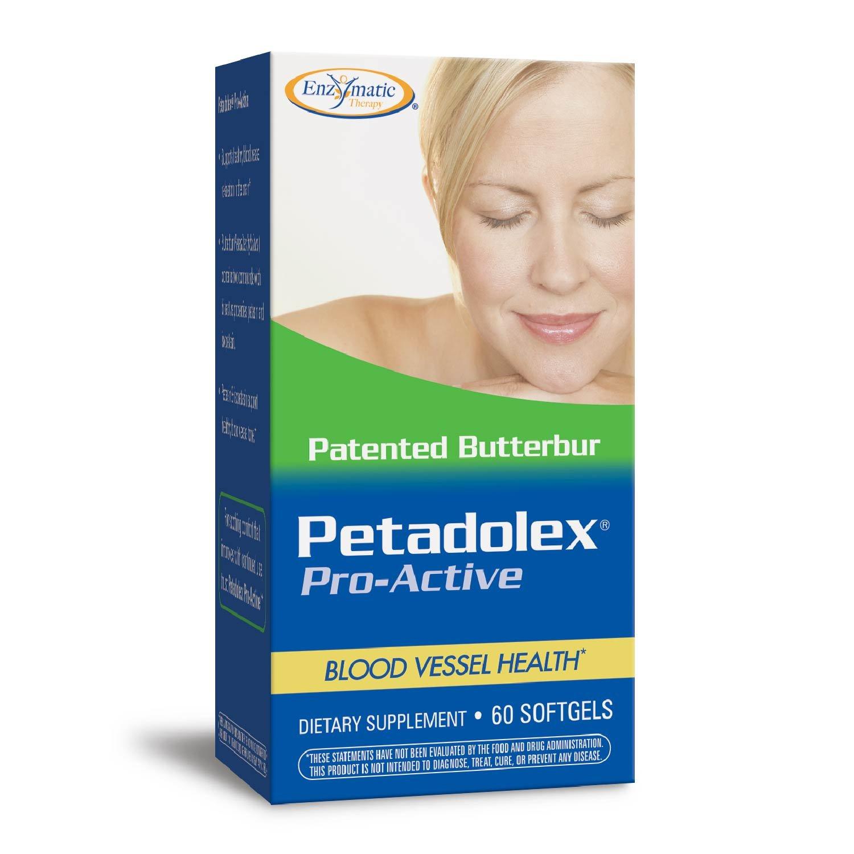 Enzymatic Therapy Petadolex, 60 Softgels