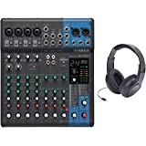 Yamaha MG10XU 10-Input Stereo Mixer with Open-Ear Headphones