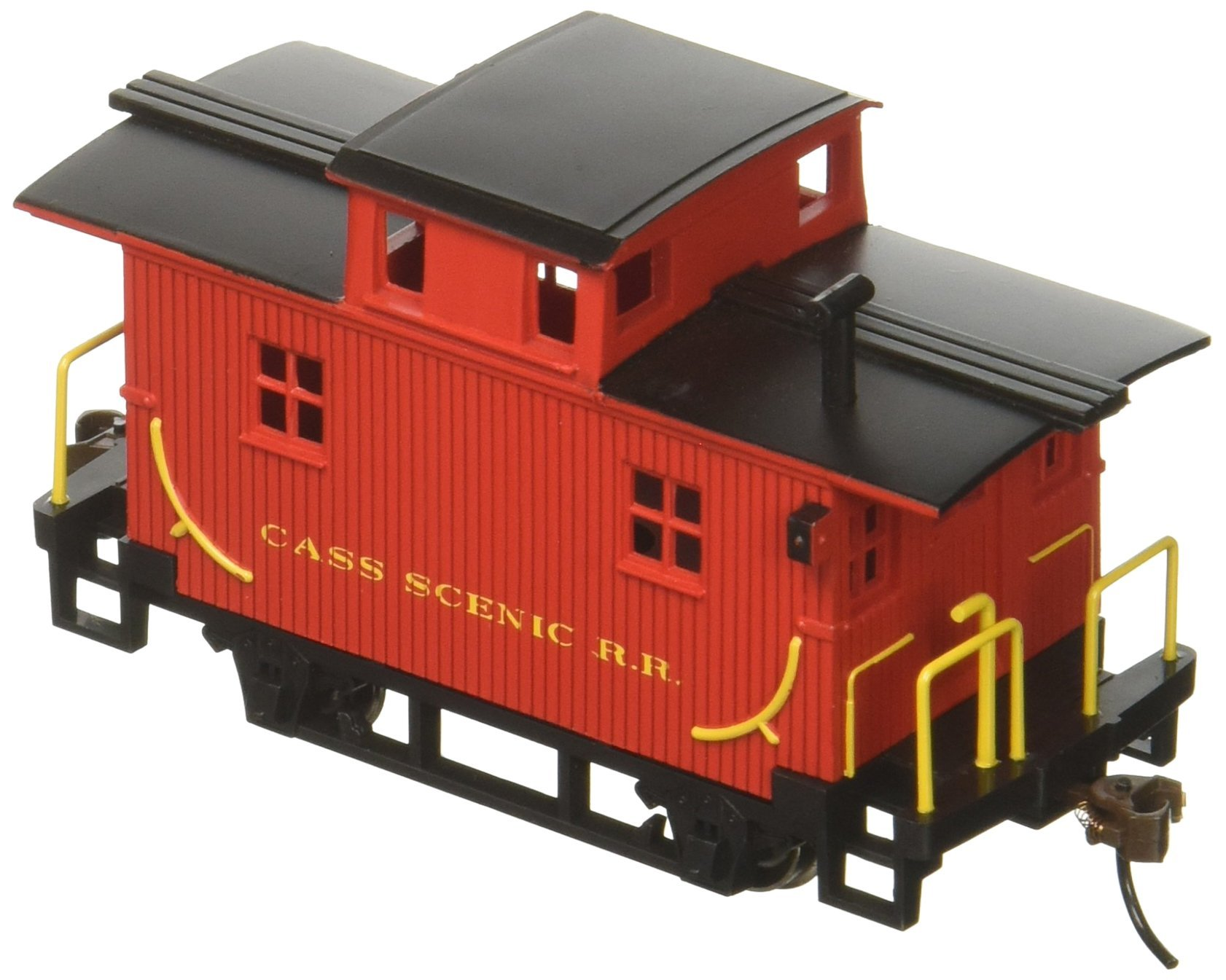 Bachmann Trains Cass Scenic R.R. Bobber Caboose-Ho Scale
