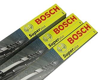 Bosch C76 - Juego de escobillas limpiaparabrisas Bosch