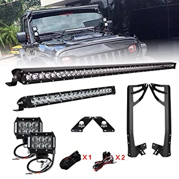 Racbox 52 250w led light bar single row 100w 20 cree led light racbox 52 250w led light bar single row 100w 20 cree aloadofball Choice Image