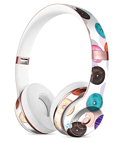 4fd270fcc04 The Colorful Donut Overlay DesignSkinz Full-Body Skin Kit for The Beats by  DRE Solo