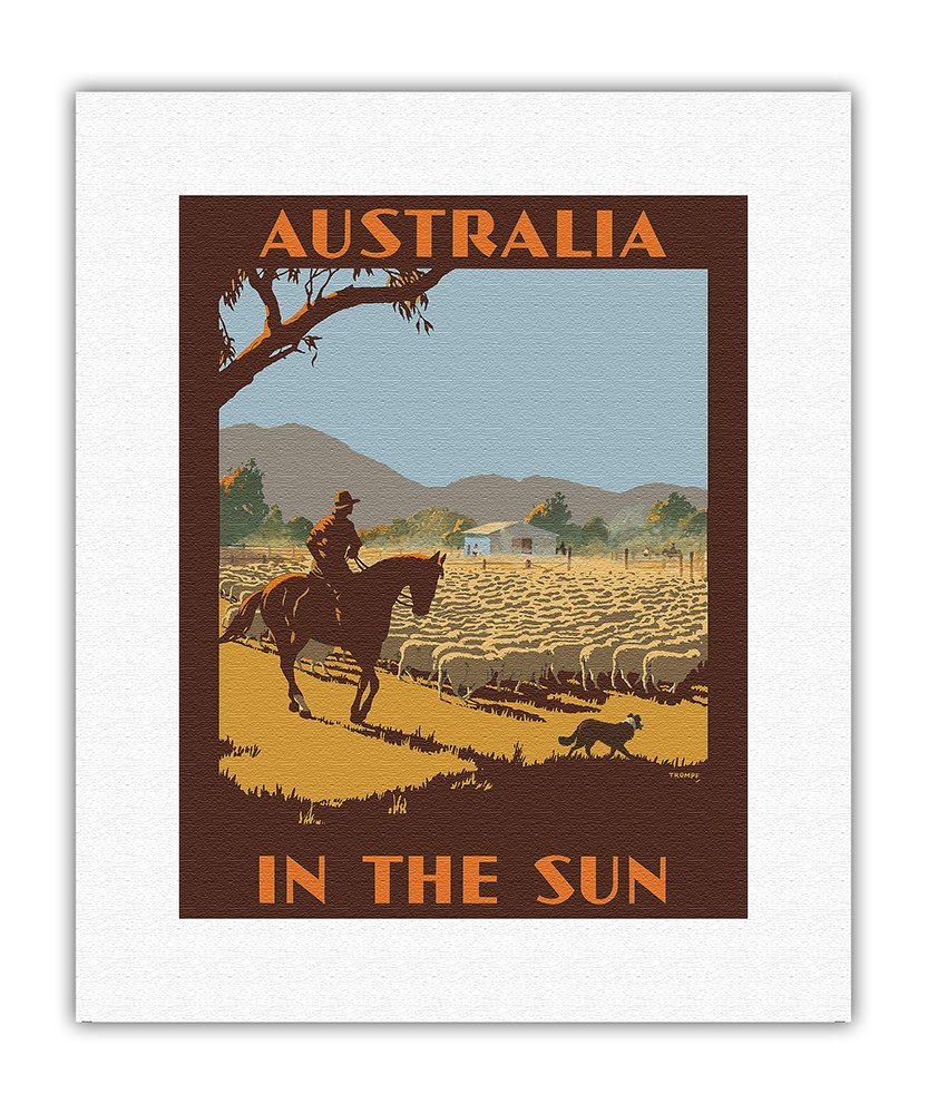 Pacifica Island Art Australien - in der Sonne - Australischer ...