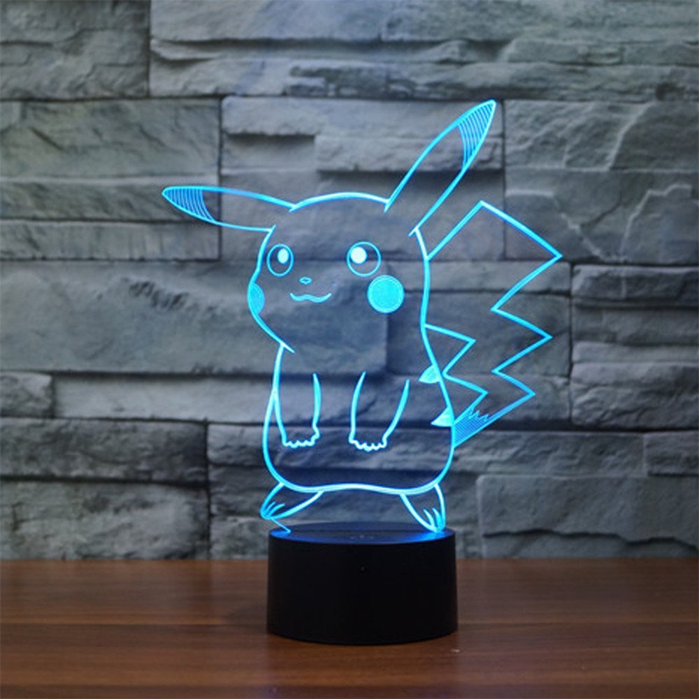 Pokemon Pikachu 3D LED Night Light