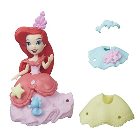 Spielzeug Disney Princess Little Kingdom Spielset Figurenset Snap-Ins Arielle B5328