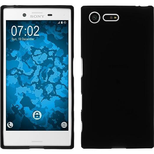 7 opinioni per PhoneNatic Custodia Sony Xperia X Compact Cover nero stuoia Xperia X Compact in
