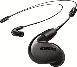 Shure SE846 Wireless Earphones with Bluetooth 5.0, Sound Isolating, Black