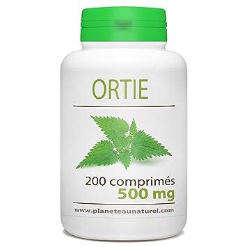 Ortiga, 500 mg, 200 comprimidos: Amazon.es: Salud y cuidado ...