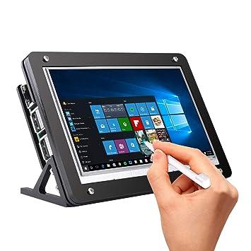 Amazon.com: Longruner Raspberry Pi Touch Screen with Case, 5 ...