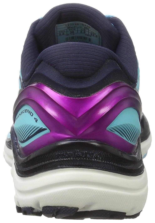 Brooks Brooks Brooks Damen Transcend 4 Laufschuhe Mehrfarbig (Blaufish/Peacoat/Purplecactusf) bec1a3
