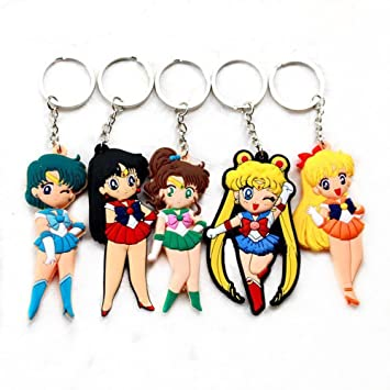 Sailor Moon Mizuno Ami Hino Rei Sailor mars Aino Minako PVC ...