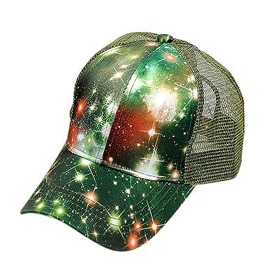 Opromo - Gorra de béisbol con Estampado de arroz y Galaxia ...
