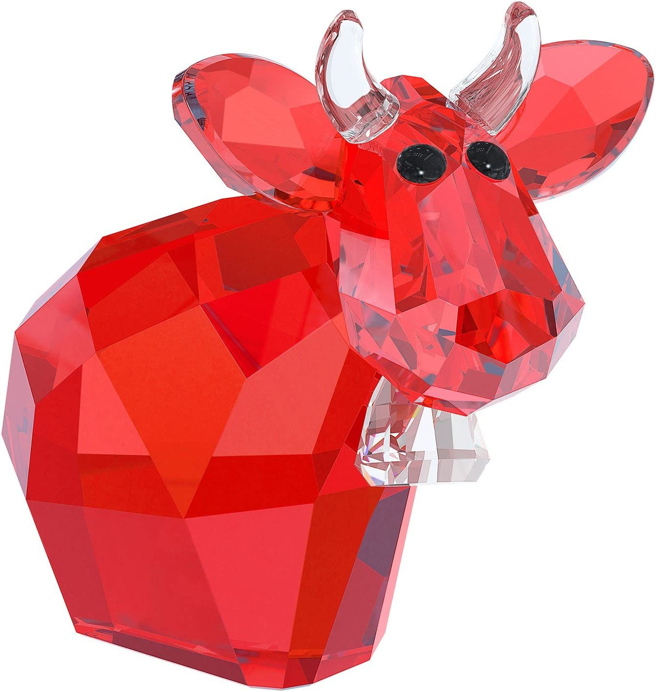 SWAROVSKI 5125931 Mini Mo Figurine, Deep Red