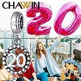 20 Number Bracelet Charms,925 Sterling Silver