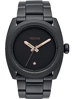Nixon Kingpin All Black / Rose Gold Stainless Steel Analog watch