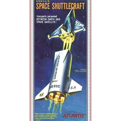 Convair Shuttlecraft Space Ship 1/150 Plastic Model Kit Atlantis: Toys & Games