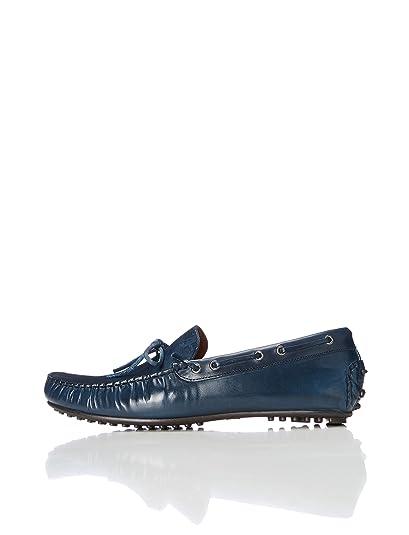 FIND Mocasines de Piel Estilo Driver Hombre: Amazon.es: Zapatos y complementos