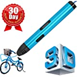7TECH 3D Printing Pens 3th Generation Perfectional Set with OLCD Display USB interface-Fluorescent blue