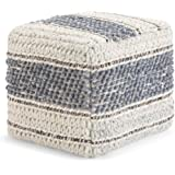 Amazon.com: Eagle Zara Medium Knot Floor Cushion in Velvet ...