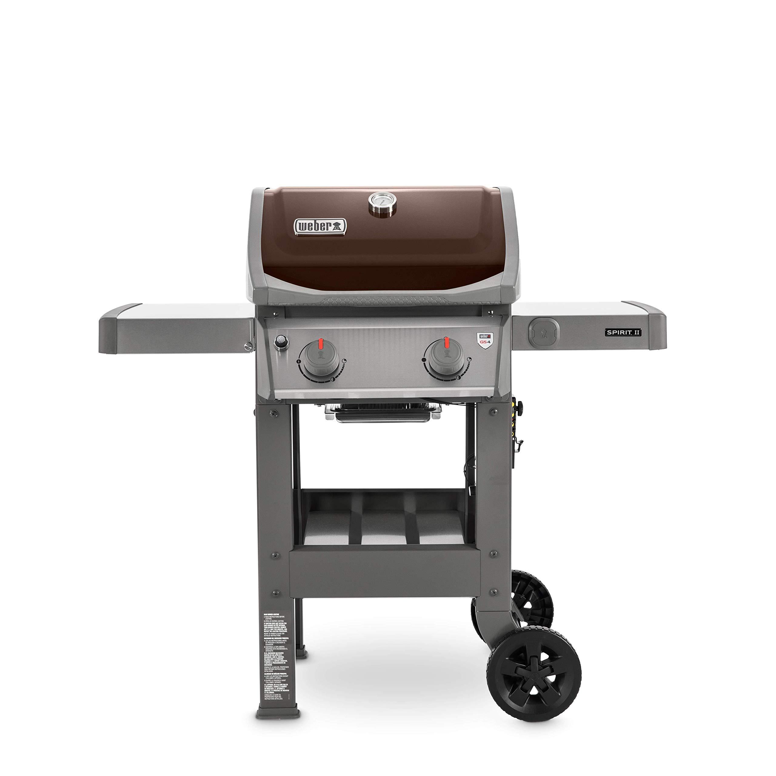 Weber 44070001 Spirit II E-210 2-Burner Liquid Propane Grill, Mocha by Weber