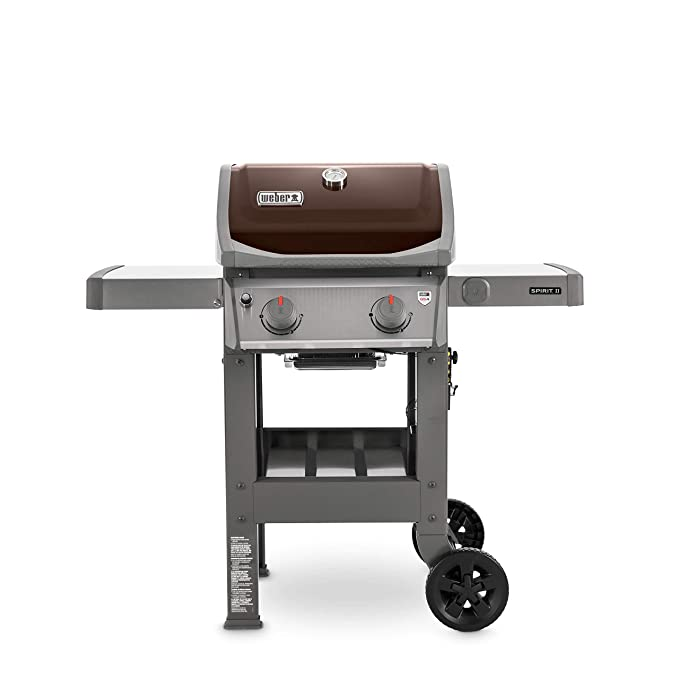 Weber 44070001 Spirit Ii E 210 2 Burner Liquid Propane Grill, Mocha by Weber