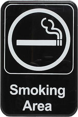 "No Smoking Novelty Metal Sign 6/"" x 9/"""