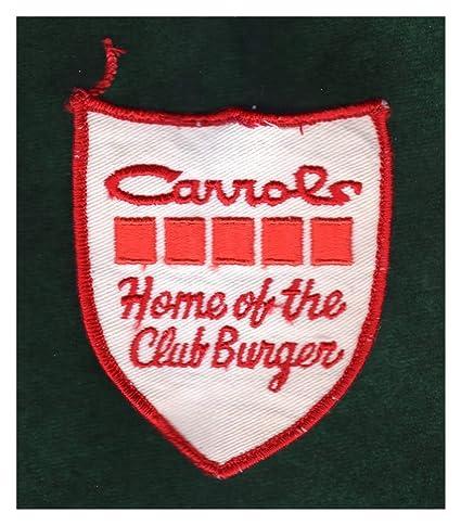 Amazon com: Carrols- Home of The Club Burger  Vintage