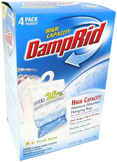 Amazon.com: DampRid Hanging Humedad Absorber fresco aroma ...
