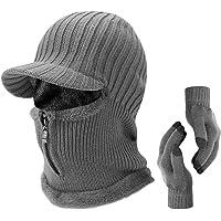 m/áscara de Cara Completa Hats Calentador de Cuello al Aire Libre Deportes de Invierno Snowboard Prueba Tofern Outdoors Multifuncional t/érmico c/álido Forro Polar pasamonta/ñas Capucha