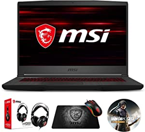 "MSI GF65 Thin 9SEXR-249 (i5-9300H, 8GB RAM, 512GB NVMe SSD, RTX 2060 6GB, 15.6"" Full HD, Windows 10) Gaming Notebook"