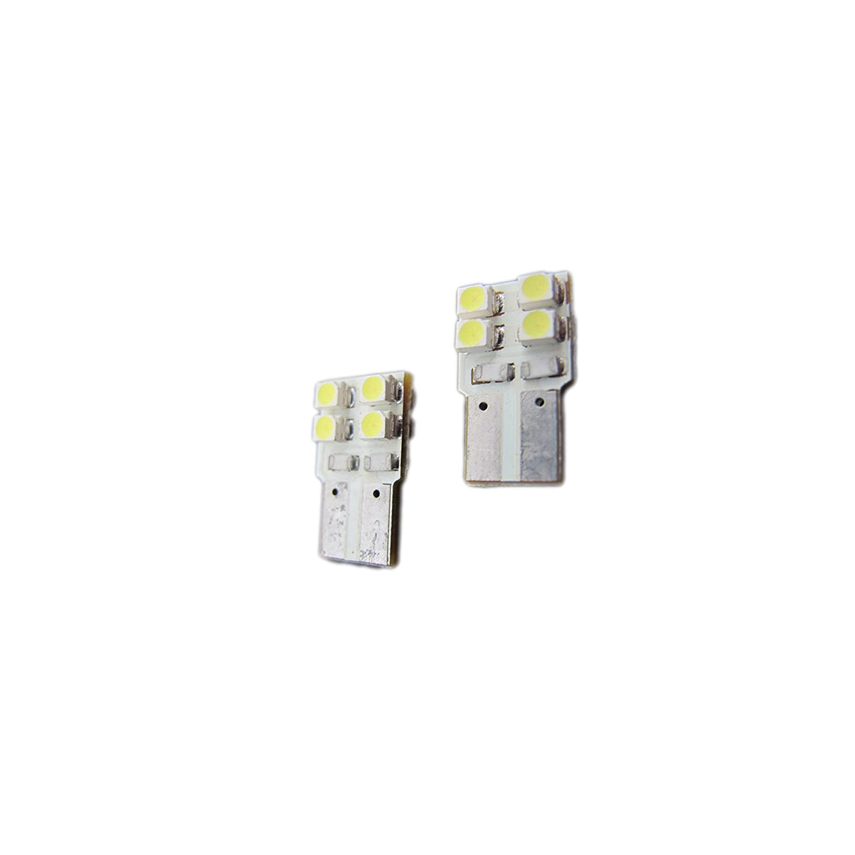 Elite Mailers T10 168 194 5050 8-SMD LED Light Bulb 2 pieces Blue