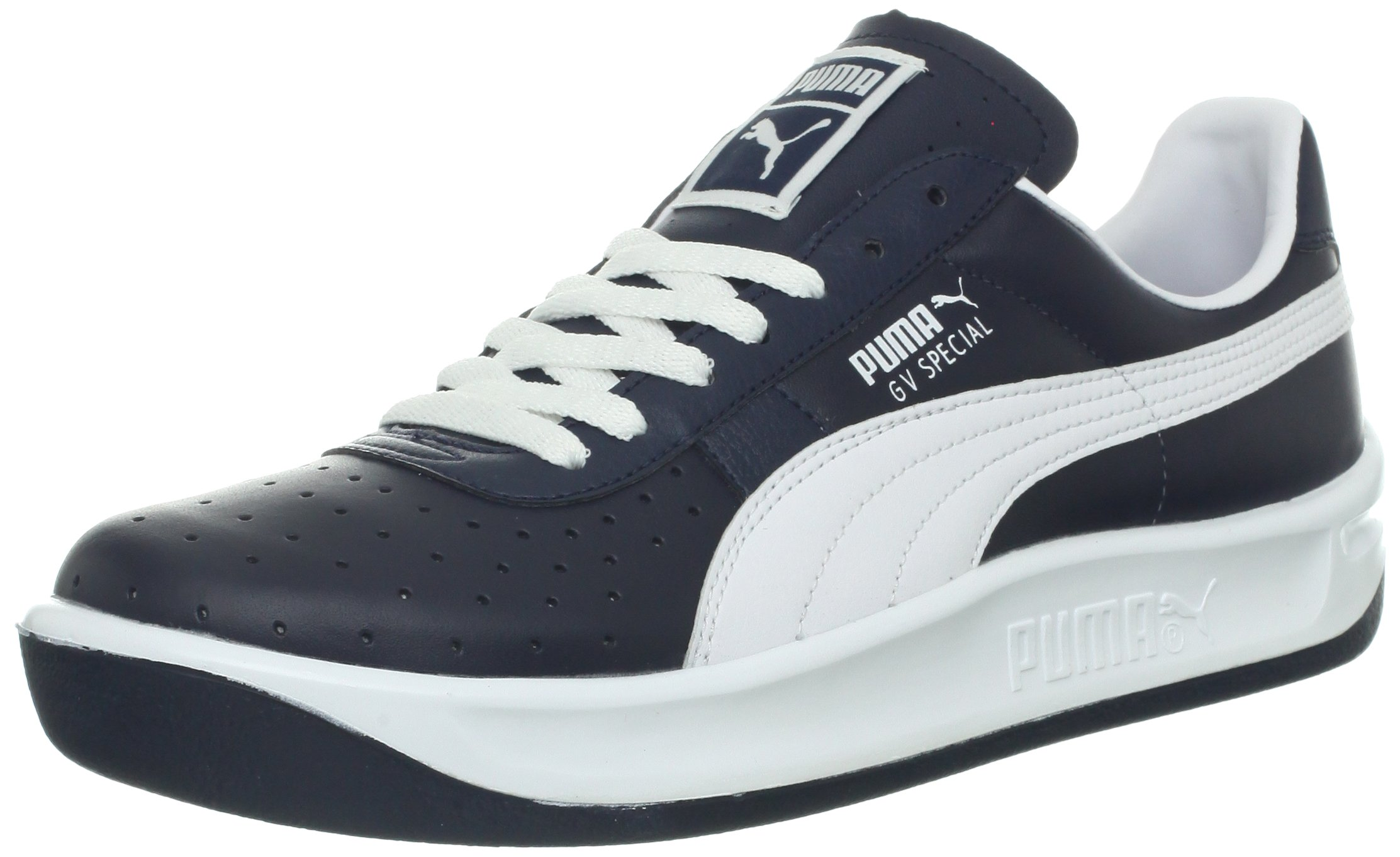 new product 52a62 3164d PUMA Men's GV Special Fashion Sneaker,New Navy/White,8 D US