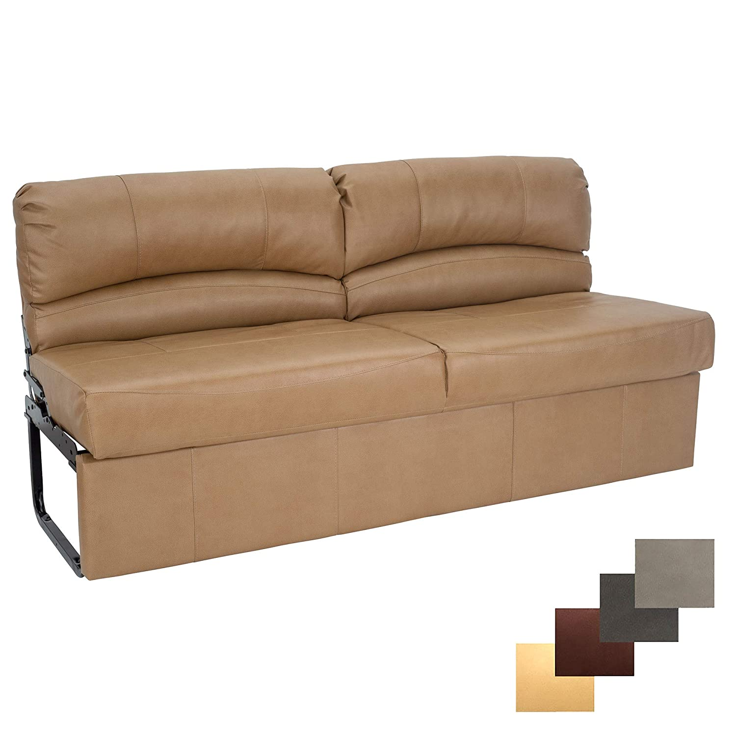 Superb Charles Rv Jackknife Sofa Love Seat Sleeper Sofa Length Options 62 68 72 11 Legs And Hardware Included 68 Inch Toffee Creativecarmelina Interior Chair Design Creativecarmelinacom