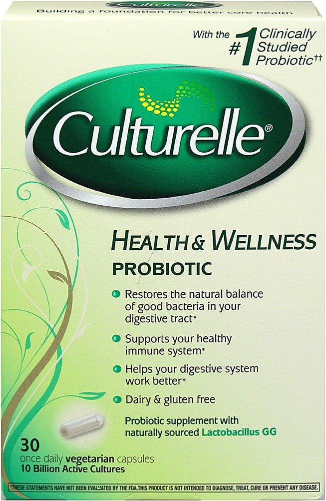 Culturelle Natural Health & Wellness Capsules 30 ea