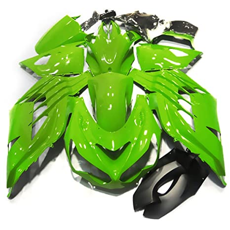 Amazon.com: ZXMOTO K1412GRN Motorcycle Bodywork Fairing Kit ...
